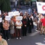Bugetarii au paralizat institutiile valcene