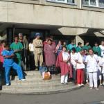 Farmacistii din Valcea, in greva japoneza