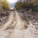 Alunecari de teren pe DN 7, intre Pitesti si Valcea