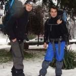 Studenti inzapeziti pe munte