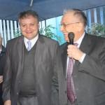 Ion Iliescu, lansat la Ramnicu Valcea