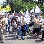 Sindicalistii valceni cer demisia guvernului!