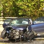 Accident grav la Sirineasa