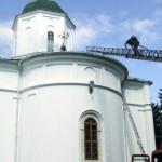 Acoperisul Catedralei, reparat cu bani de la enoriasi