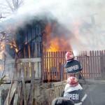 Incendiu la Fedelesoiu