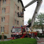Avansari in grad la pompierii valceni