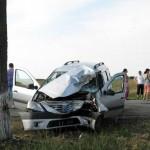 Accident grav la Bujoreni