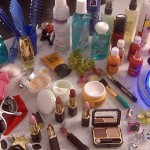 Cosmetice de lux confiscate de politisti