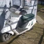 Prins dupa ce a furat un motoscuter