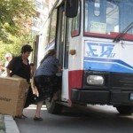 Modificare a traseului autobuzelor Eta, pentru locatarii blocurilor sociale