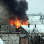 Incendiu la o magazie din Fartatesti