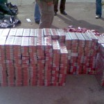 Tigari confiscate de politistii de la municipiu