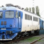Batran taiat de tren la Calimanesti