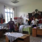 Primarul a amenajat un atelier al artei populare