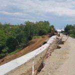 În satul Bulagei, alunecarea de teren s-a reactivat de trei ori