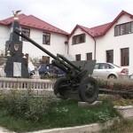 Primarie pazita cu tunuri