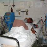 Dializati bolnavi de gripa porcina