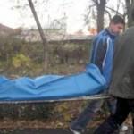Cadavru in raul Bistrita