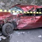 Accident grav la Caineni