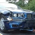 Accident provocat de un sofer grabit