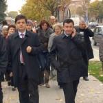 Romeo Radulescu isi lanseaza campania in mijlocul ramnicenilor