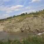 Alunecarea haldei de steril a minierei ameninta casele oamenilor din Berbesti